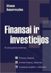 Finansai ir investicijos. III atnaujintas leidimas